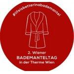 1. Wiener Bademanteltag – GRATIS Eintritt in der Therme Wien am 2. Mai ab 16 Uhr (nur für Gäste mit Bademantel beim Eintritt)