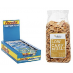 30x PowerBar Riegel (30 x 35G) + Low Carb Müsli um 13,49 € statt 29,17 €