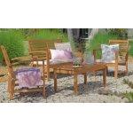 4-teiliges Garten-Set aus Eukalyptusholz inkl. Versand um 141,41 €