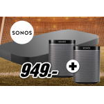 Sonos Playbase + 2x Play:1 um 790,83 € statt 1013 €