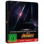 Avengers: Infinity War 3D Blu-ray Steelbook um 22,49 € statt 32,99 €