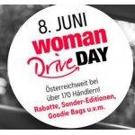 WOMAN DRIVE DAY am 8. Juni – GRATIS Goodie Bags, Rabatte, …