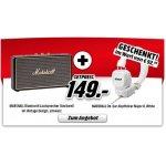 Marshall Stockwell Bluetooth Lautsprecher + GRATIS Marshall Major II White On-Ear Kopfhörer inkl. Versand um 149 € statt 202,03 €