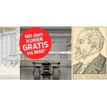 "MAK Wien – GRATIS Eintritt am 9. Juni mit ""Kurier"" unter dem Arm"