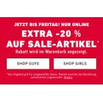 Hollister: 20% Extra-Rabatt auf den Sale