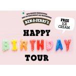 Ben & Jerry's Birthday Tour Linz / Wien – Gratis Eintritt & Eis (26. & 27.7.)