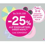 Bipa: 25% auf einen Artikel deiner Wahl (mit BipaCard, bis 30.06.)