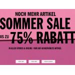 Urban Outfitters Summer Sale – bis zu 75% Rabatt auf viele Artikel!