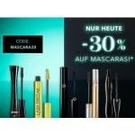 Douglas Onlineshop – 30% Rabatt auf Mascara & gratis Versand