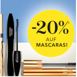 Douglas: 20% Rabatt auf Mascaras (mit Beauty-Card!)