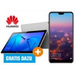 Huawei P20 Pro + Huawei MediaPad T3 um 756 € statt 869,34 €