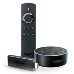 Fire TV Stick mit Alexa + Echo Dot um 59,98 € statt 91,92 €