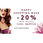 Triumph Happy Shopping: 20% Rabatt auf alles