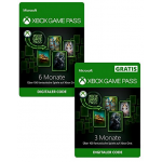 Xbox Game Pass – 9 Monate Mitgliedschaft um 59,49 €statt 90,75 €
