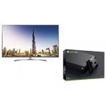 LG 55″ Super UHD Fernseher + Xbox One X um 1.200 € statt 1520,94 €