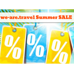 we-are.travel Summer SALE – 50 Special Travel-Deals noch günstiger!