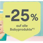 Bipa – 25% Rabatt auf Babyprodukte & gratis Versand (bis 05.09.)
