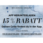 H&M: 15% Rabatt nach App-Download (bis 30.07.)