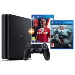 PlayStation 4 500GB + God of War + FIFA 18 um 277 € statt 347 €
