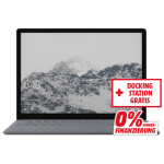 Microsoft Surface Laptop Platinum + Dock um 797 € statt 1071 €