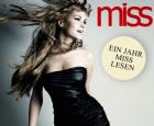 Magazin MISS im Jahres-Abo inkl. 10 Ausgaben um 8,50 statt 17 Euro @DailyDeal.at