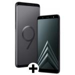 Samsung Galaxy S9+ inkl. Samsung Galaxy A6 um 699 € statt 899,94 €