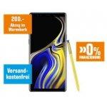 Samsung Galaxy Note9 128GB um 799 € statt 997 € vorbestellen