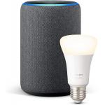 Amazon Echo Plus (2. Gen) + Philips E27 Lampe um 73,09 € statt 146,20 €