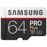 Samsung Pro Plus Micro SDXC 64GB + Adapter um 25 € statt 47,85 €
