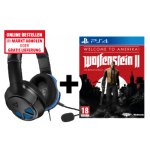 Wolfenstein II: New Colossus + Turtle Beach Headset um 40 € statt 84,55 €
