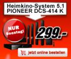 Jeden Sonntag Wahnsinns Angebote u.a. Pioneer DCS 414 für 299€ @MediaMarkt