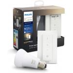 Philips Hue White E27 LED-Lampe inkl. Dimmschalter um 24€ statt 34 €