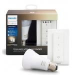 Philips Hue White E27 LED-Lampe inkl. Dimmschalter um 32 € statt 42 €