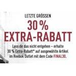 Reebok Outlet – bis zu 50% im Sale + 30 % Extra-Rabatt auf Lucky Sizes