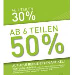 Modepark Röther – 50% Rabatt zusätzlich auf den Sale ab 6 Teilen!