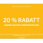H&M: 20% Rabatt auf Kinderabteilung (ab 40€ Bestellwert)