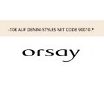 Orsay: -10€ auf Denim-Styles (bis 02.09.)