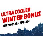 Media Markt Winterbonus – bis zu 130 € Rabatt auf eure Bestellung!