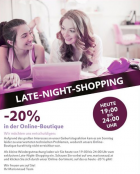 Late-Night-Shopping: von 19:00 – 24:00 -20% auf alles @Marionnaud.at