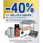 Metro – 40% Rabatt auf ALLE Griller & Grillzubehör (06. & 07.09.)