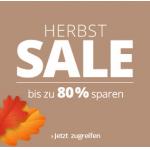 Herbstsale mit bis 89% Rabatt auf über 7000 Artikel bei Lampenwelt.at
