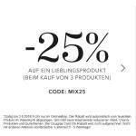 Douglas: 25% Rabatt auf den teuersten Artikel beim Kauf von 3