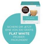 Gratis Packung Dolce Gusto Flat White für die ersten 300 Anmeldungen
