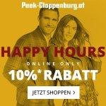 Peek&Cloppenburg Onlineshop – 10 % Rabatt auf reguläre Ware