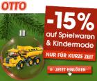 -15% auf Spielwaren und Kindermode von 17.11 – 19.11.2011 @Ottoversand.at