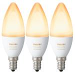 Philips Hue White Ambiance E14 LED Kerze (3er Pack) um 59 € statt 85 €