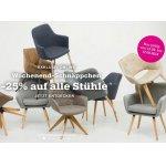 mömax Onlineshop – 25 % Rabatt auf Stühle & gratis Versand