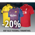 XXLSports.at Shopping Night – z.B. 20% Rabatt auf Fußball Fanartikel