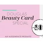 Douglas Beauty Card: 30% Rabatt auf ausgewählte Produkte