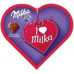 2x I Love Milka Pralinen mit Haselnusscreme 300g um 2,78 € statt 8,13 €